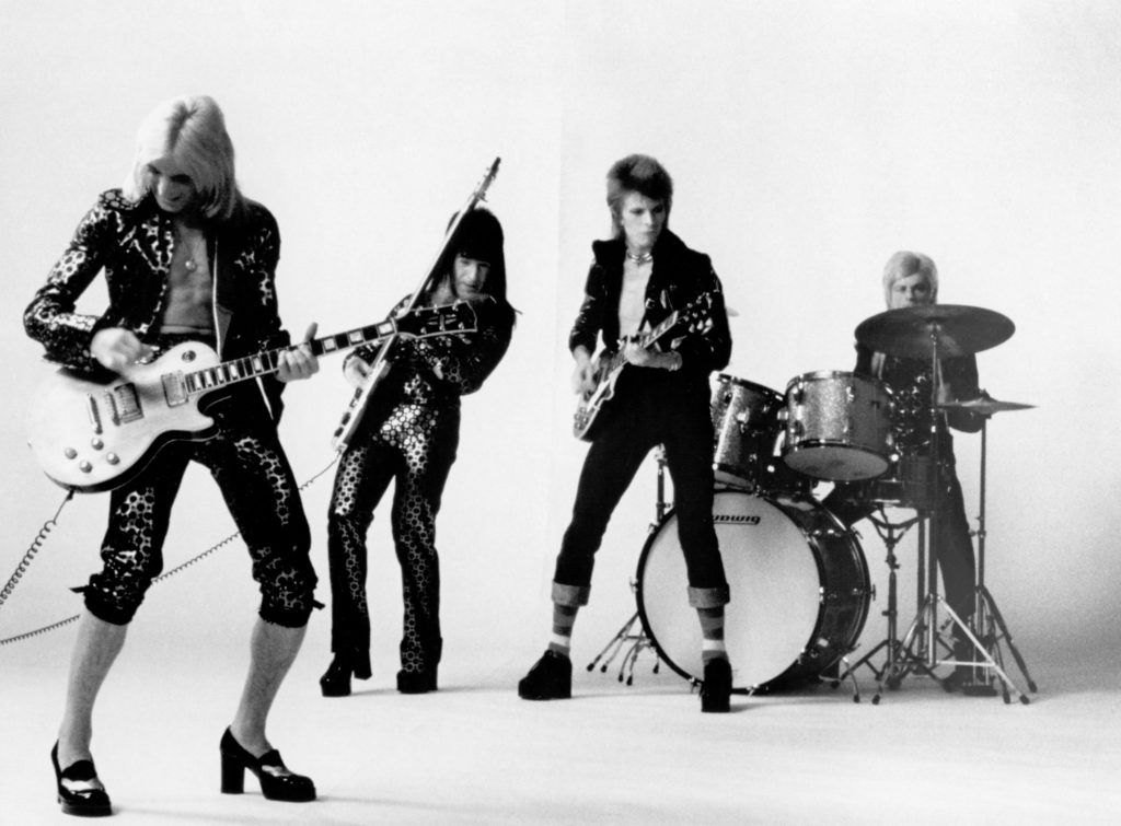 David Bowie and Spiders from Mars
